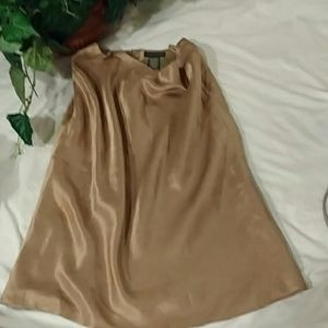 Banana republic gold skirt 4